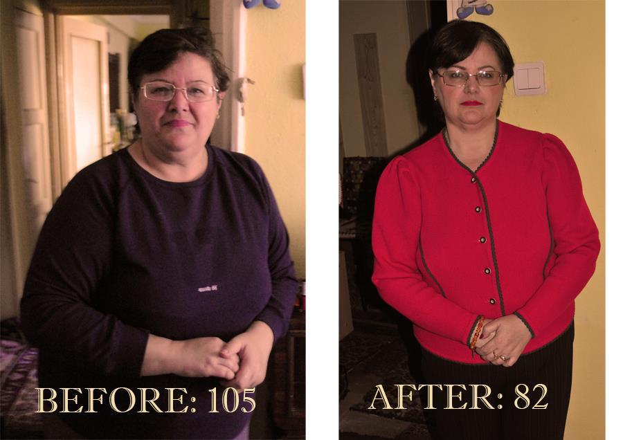 Inca o transformare – Doina Popescu a slabit 23 kg cu dieta keto