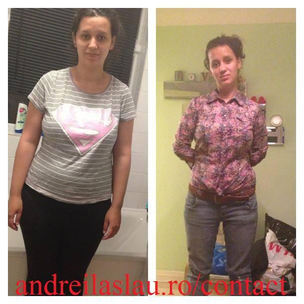 Inca o transformare cu dieta keto: -15kg in 75 zile.