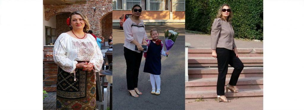 Cristina Socea a slabit 20 kg in 4 luni cu dieta keto ( 97 –> 77kg )